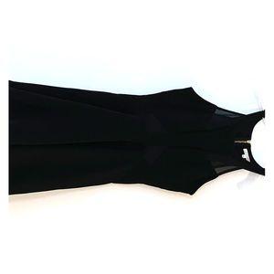 Black, Sheer Cocktail Dress
